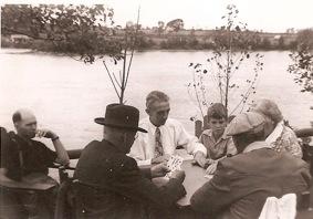 Pointe aux chênes, les joueurs de cartes