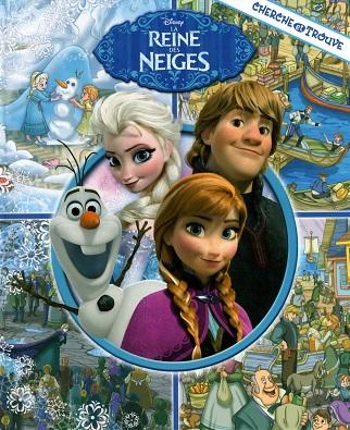 La reine des neiges (cherche et trouve)