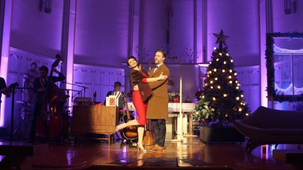 Marie-Eve Janvier et Jean-François Breau étaient spectaculaires!