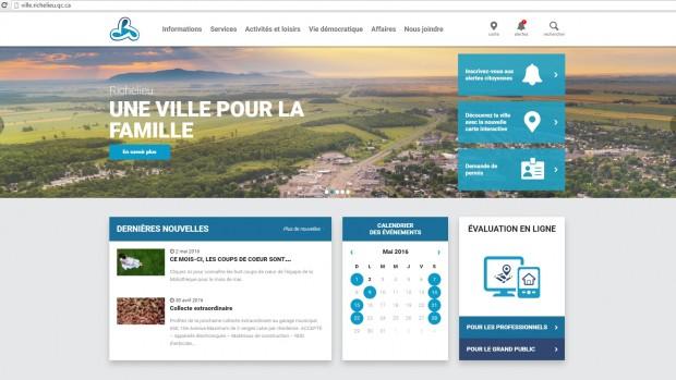 LA VILLE DE RICHELIEU EST MISE À L'HONNEUR!