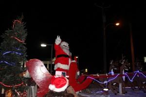 Père Noël et sa parade à Richelieu 2016 Crédits photo Ville de Richelieu Simon St-Michel
