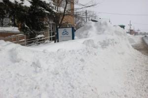 Tempête de neige à Richelieu 16 mars 2017 Crédits Ville de Richelieu - Simon St-Michel