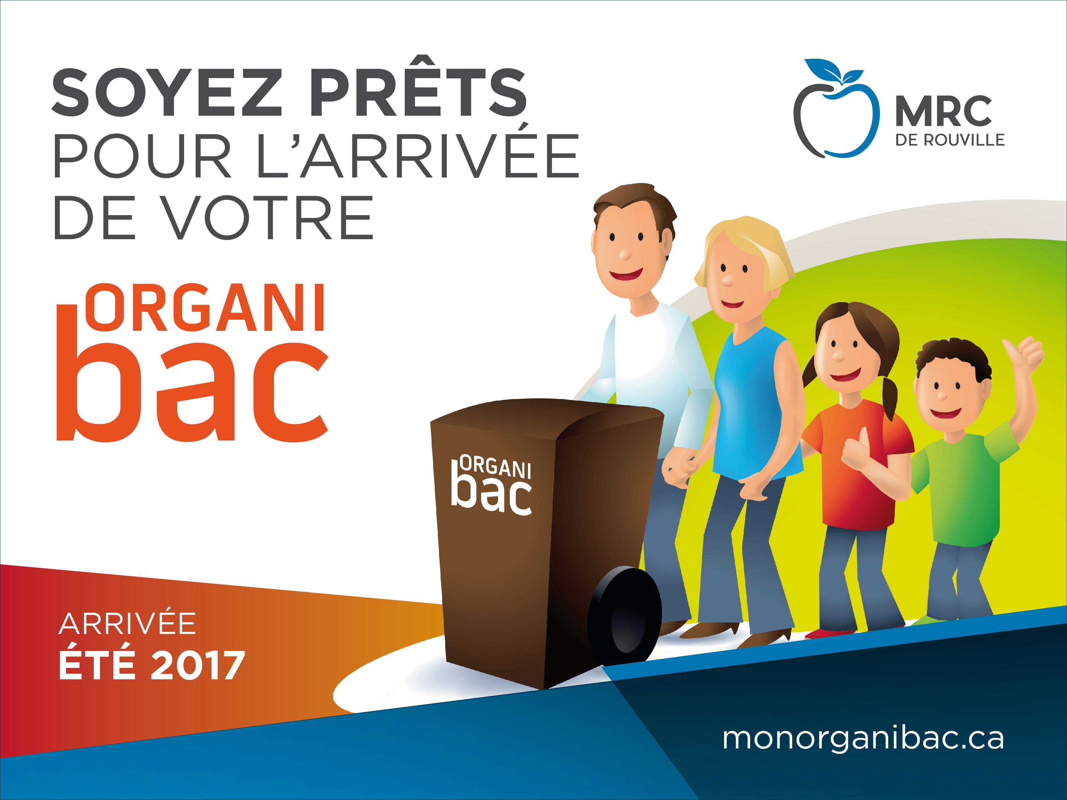 Le bac à compost, l'Organibac, arrive en 2017!