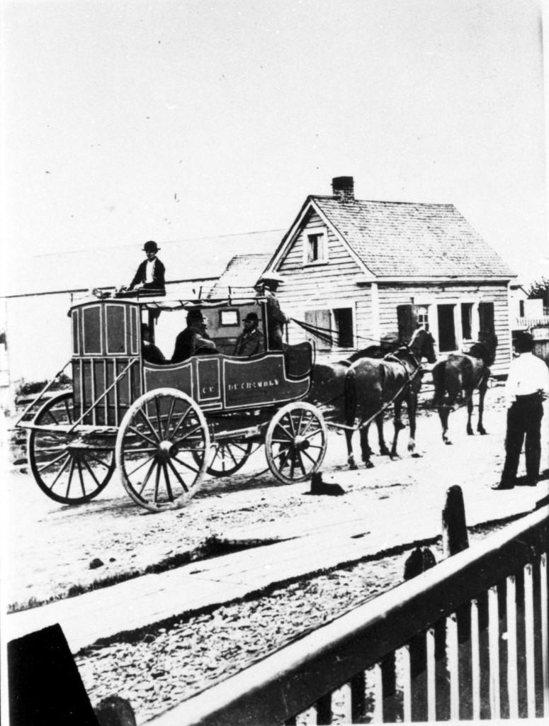 70.Diligence de Chambly en 1870
