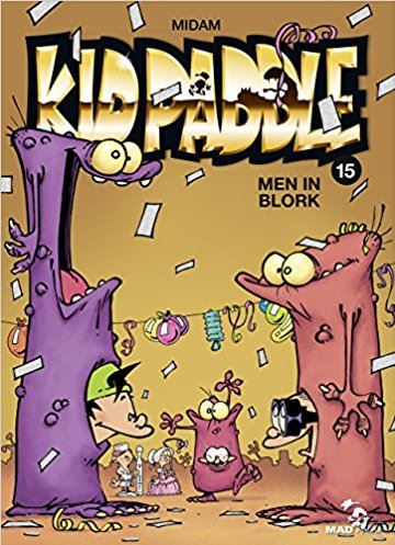 Men in blork. « Kid Paddle »