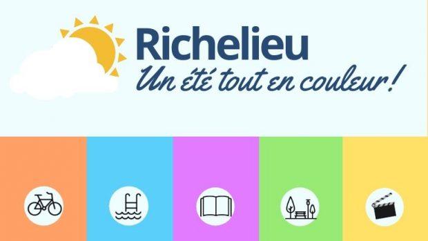 Un été tout en couleur à Richelieu